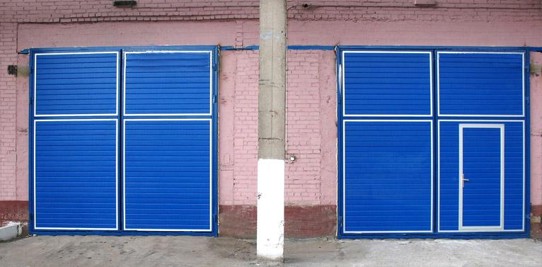 Ворота для промпредприятий комплектующие для откатных ворот усилений