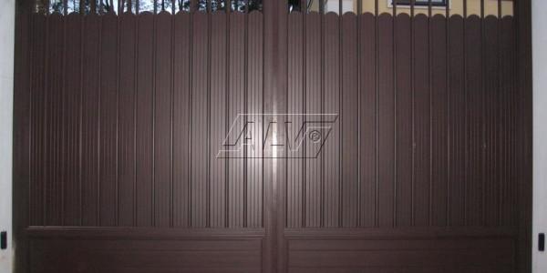 Распашные ворота ALV- фото 2