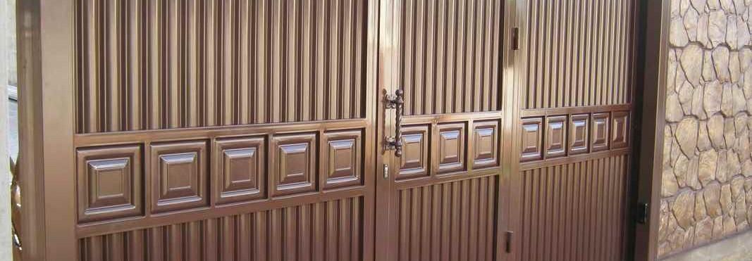 Откатные ворота Каскад фото