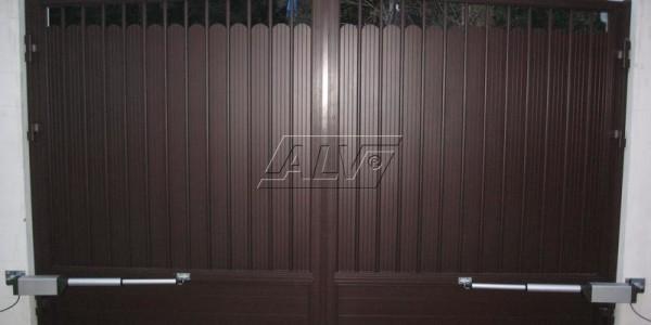 Распашные ворота ALV- фото 4
