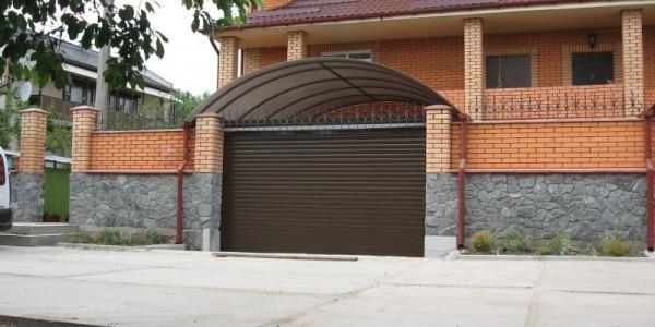 Роллетные ворота ALUPROF- фото 4