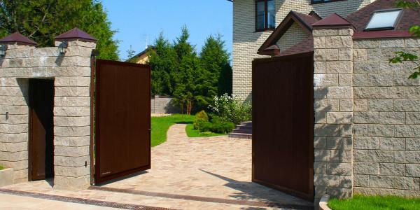 Распашные ворота Дорхан (Doorhan)- фото 4