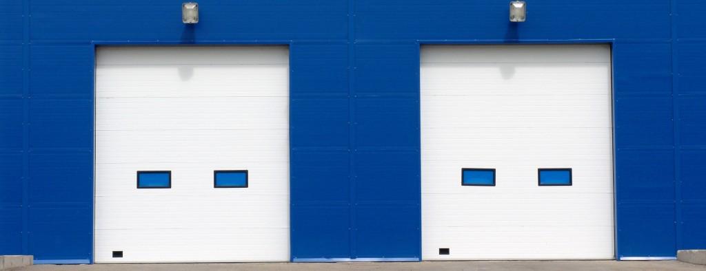 Промышленные ворота - фото
