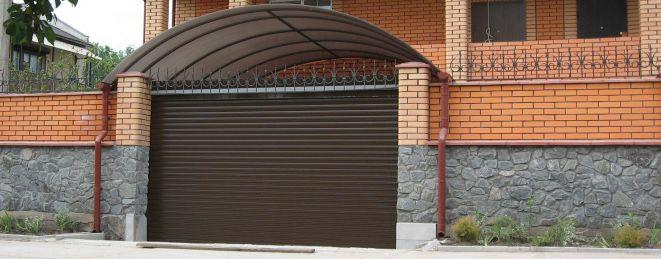 Роллетные ворота ALUPROF - фото