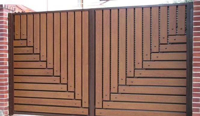 Откатные ворота КАСКАД - фото