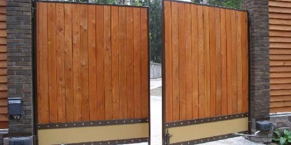 Распашные ворота Алютех (Alutech) - фото