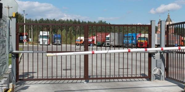 Распашные ворота ALV - фото