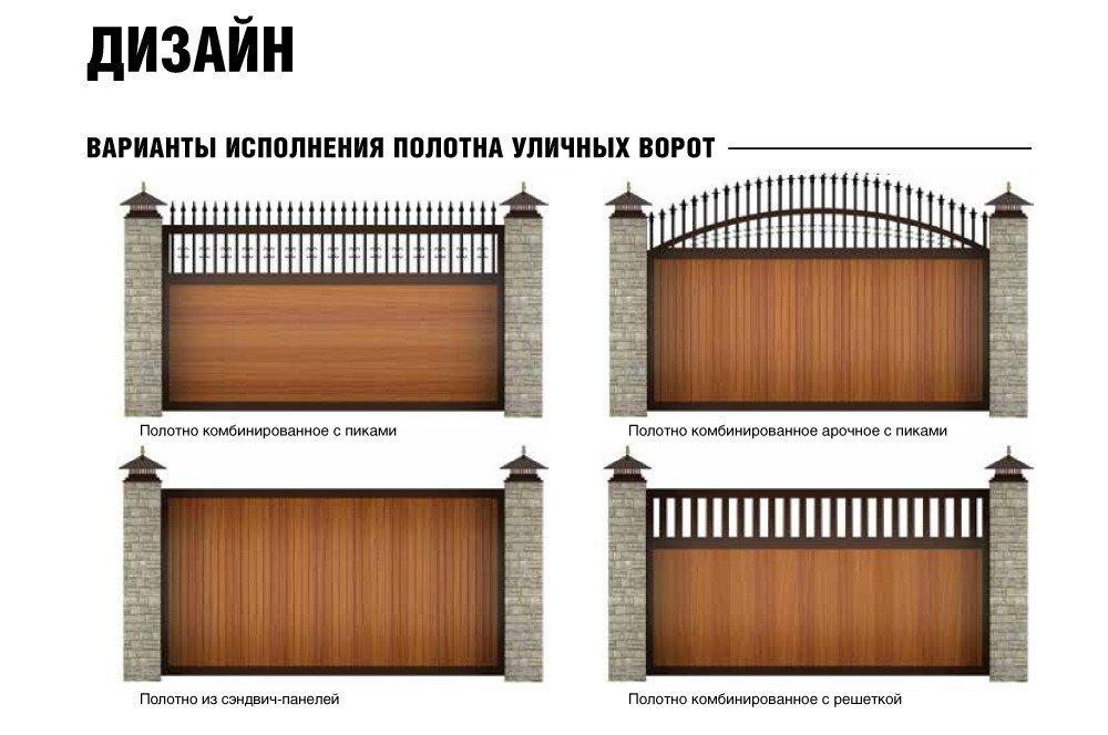 Распашные ворота Дорхан (Doorhan) - фото