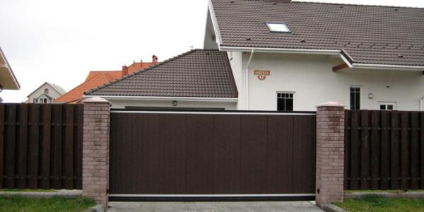 Откатные ворота Ryterna (Ритерна) - фото