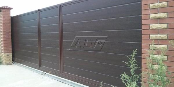 Откатные ворота ALV - фото