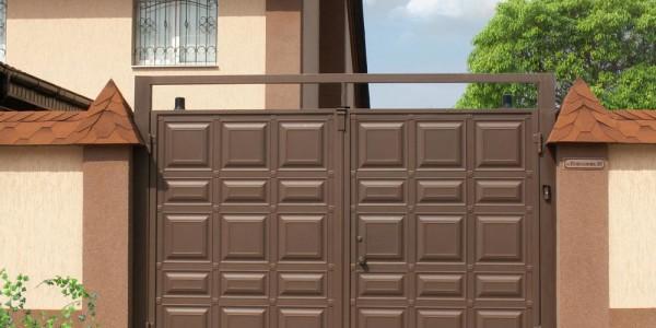 Распашные ворота КАСКАД - фото