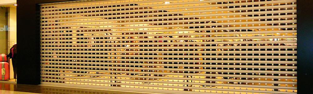 Роллетные решетки - фото